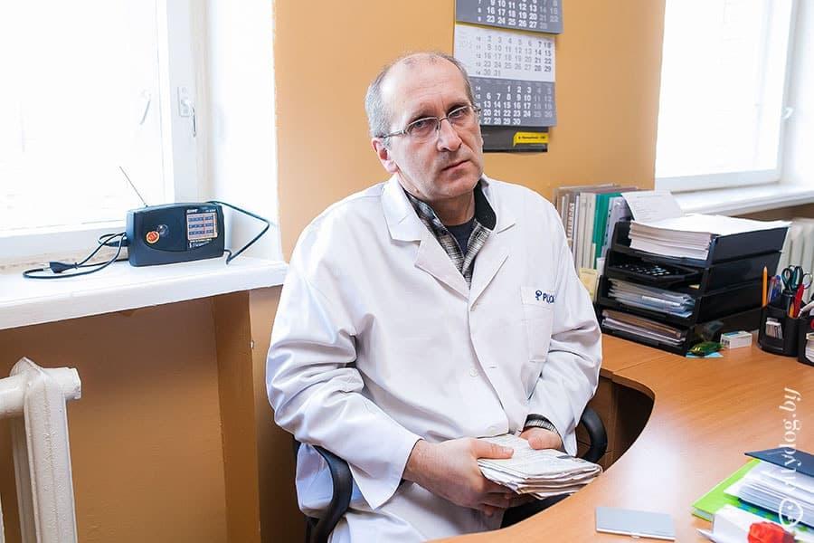 Денис Майченко, терапевт со стажем работы 15 лет