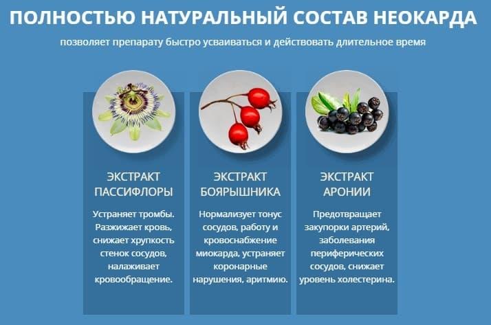 Состав Неокард в Димитровграде